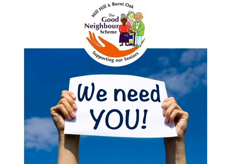 Emergency Appeal for Volunteers from Good Neighbour's Scheme